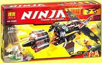 Конструктор Bela серия NINJA / Ниндзя 10322 (Скорострельный истребитель Коула)
