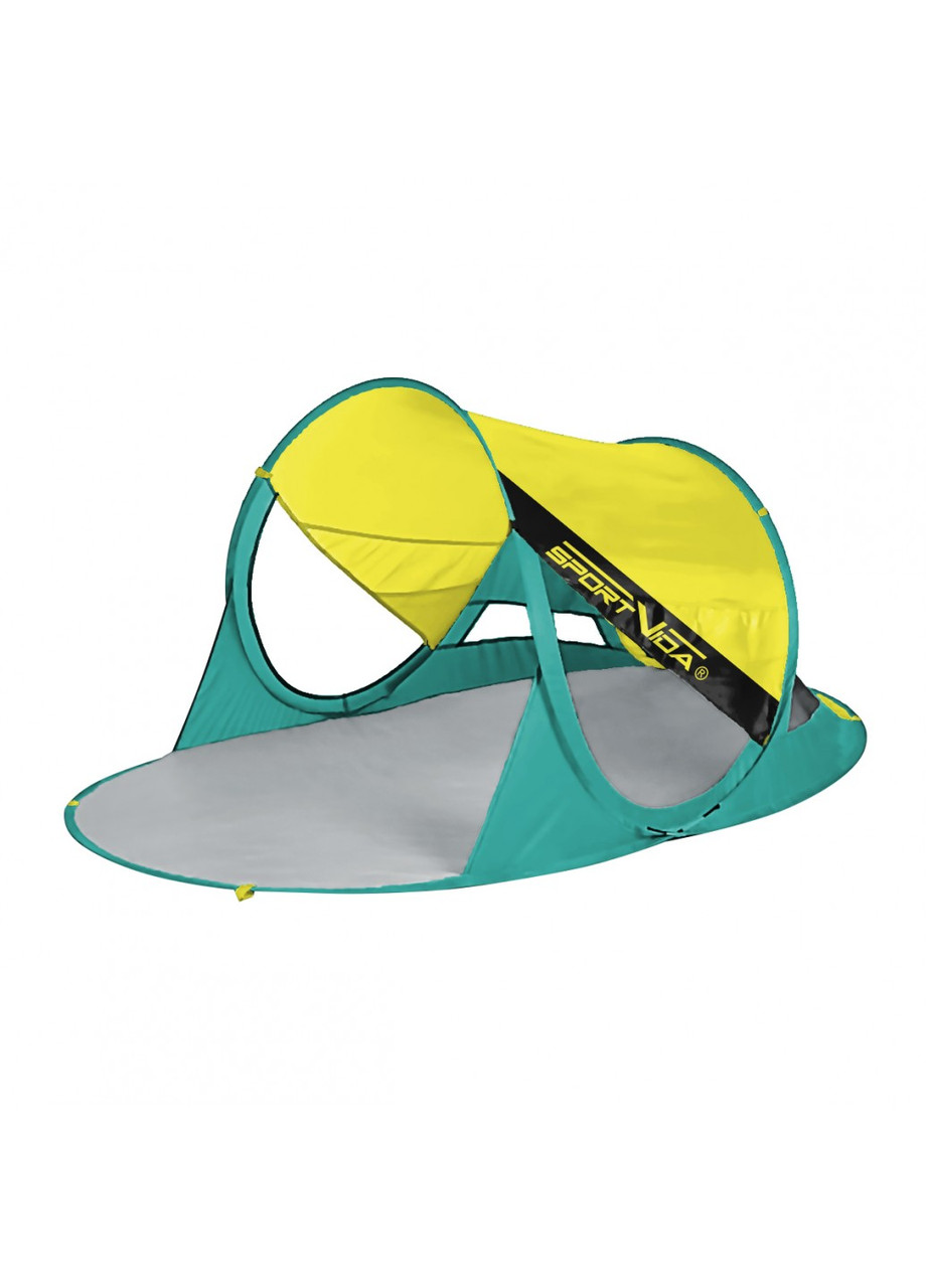 Пляжный тент SportVida 190 x 120 см SV-WS0007 Yellow/Green