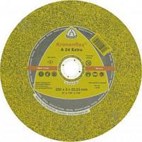 Круг отрезной по металлу Kronenflex EXTRA A24EX GER 230*3*22,23 мм