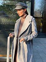 """Пальто """"Верона"""" серое, фото 1"""