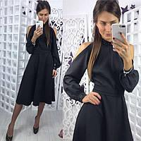 Женское черное платье, фото 1