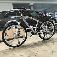 """Велосипед гірський BMW 26/"""" на литих дисках Білий на ріст 145-180см"""