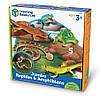 """Набір великих тварин """"Рептилії"""" від Learning Resources, фото 3"""