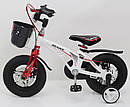 """Дитячий двоколісний велосипед 12 дюймів магнезиевая рама """"MARS-12"""" White, фото 3"""