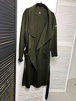 """Пальто """"Адриана"""" хакі, фото 1"""