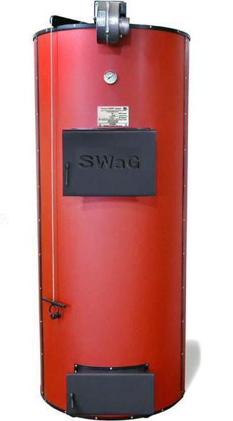 Котел твердотопливный бытовой SWaG 40 кВт (универсальный)
