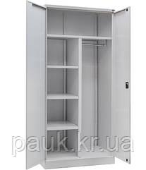 Шафа гардеробна металева ШКГ-10ог, гардеробна офісна шафа