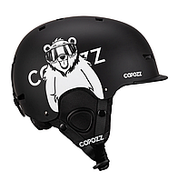 Горнолыжный / сноубордический шлем COPOZZ с рисунком (BLACK BEAR) (М), фото 1