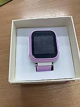 Детские часы Q60 Уценка Цвет Розовый