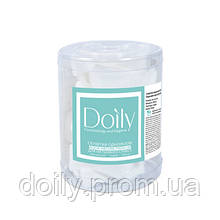 Салфетки AQUA Absorb 5х5 см Doily (400 шт в тубусе) из целлюлозы 50 г / м2
