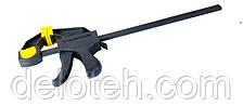 Струбцина столярная автоматическая 200* 60 мм, 800Н MASTERTOOL 07-0401