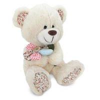 Мягкая игрушка LAVA Медвежонок с декоративным цветком (LF1144) 22 см