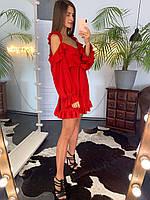 """Плаття  """"Лайт""""червоний, фото 1"""