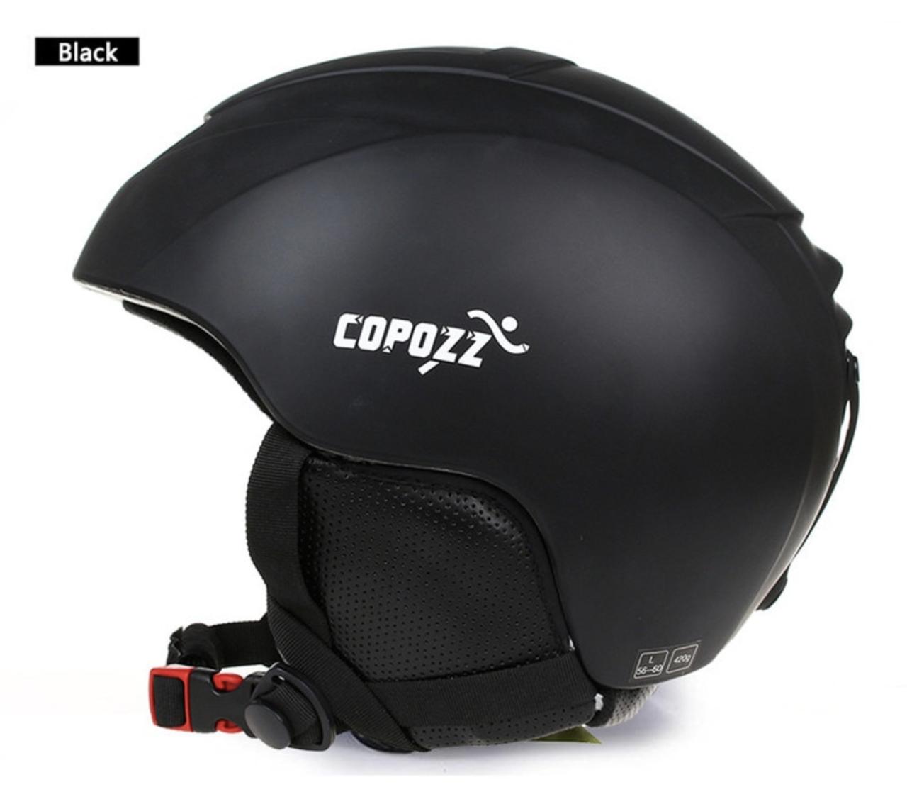 Горнолыжный / сноубордический шлем COPOZZ  (BLACK) (М)