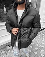 Стильная мужская куртка с принтом на воротнике BLACKGATE