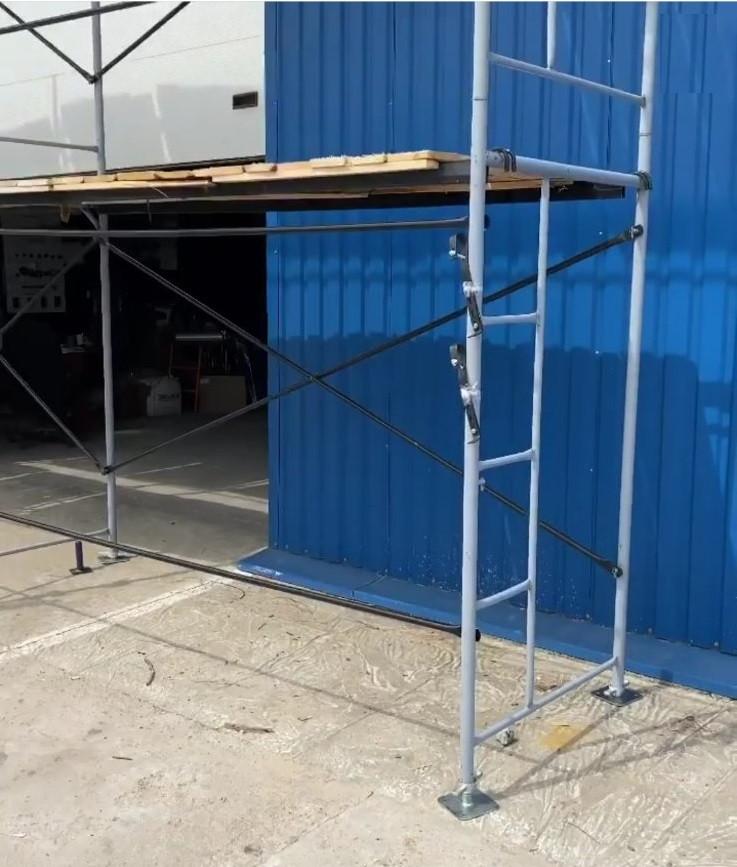 Рамні будівельні риштування комплектація 2 х 3 (м)
