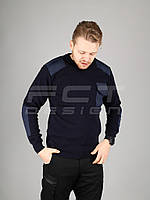 Свитер под горло форменный Синий, фото 1