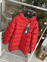 Червоні пуховики пальто Colmar 2021