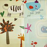 """Детский термо коврик складной развивающий """"Подводный мир + Сафари"""" 200х180 см +сумка-чехол, фото 5"""