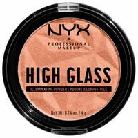 NYX Пудра-хайлайтер High Glass Illuminating Powder №02 (daytime halo) 4 г
