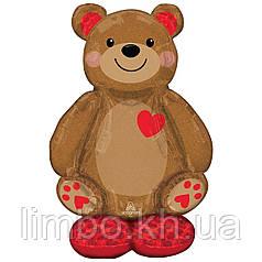 Стоячая фигура Медведь с сердечком