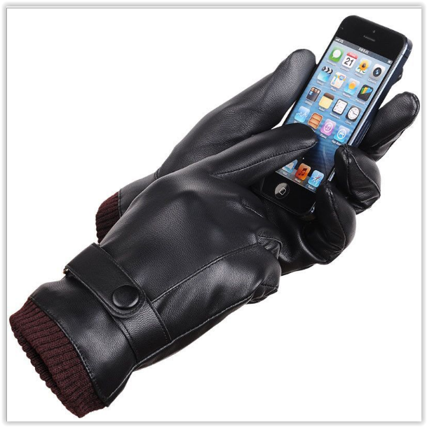 Рукавички теплі вітрозахисні сенсорні рукавички код 17 унісекс