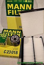 Набор для ТО Мазда 3 фильтров воздушный масляный салона MANN
