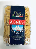 Макарони з твердих сортів Agnesi Penne Rigate # 19, 500 g