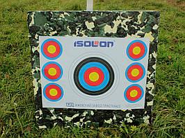 Щит-стрелоулавливатель, изолон-блок 100, щит для мишений толщиной 10 см, размер 1х1 м.