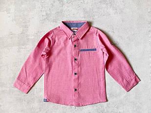 Рубашка для мальчика, 3/4, 4/5, 5/6 л.