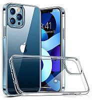 Прозрачный силиконовый чехол Apple iPhone 12