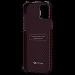 Pitaka MagEZ Twill Case кевларовий чохол для iPhone 12 Pro Black/Red, фото 4