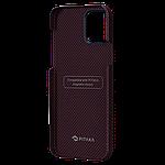 Pitaka MagEZ Plain Case кевларовий чохол для iPhone 12 mini Black/Red, фото 2