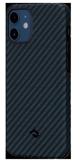 Pitaka MagEZ Twill Case кевларовий чохол для iPhone 12 mini Black/Blue
