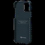 Pitaka MagEZ Twill Case кевларовий чохол для iPhone 12 mini Black/Blue, фото 4