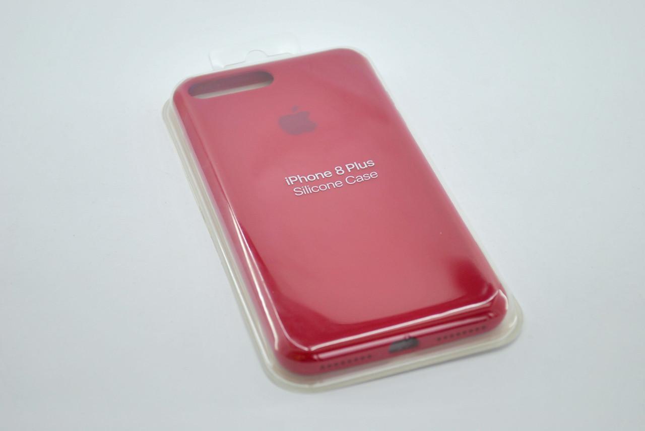 Чехол для телефона iPhone 7 /8 Silicone Case original FULL №35 rose red (4you)