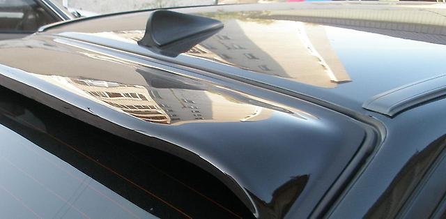 "Козырек заднего стекла Chevrolet Laceti седан ""FLY"" Торчит"