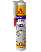 Клей-ущільнювач Sikaflex-111 Stick & Seal 290 мл