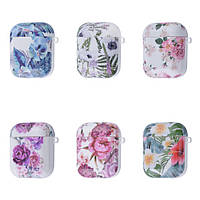 Чохол Beauty Flowers Case for AirPods 1/2
