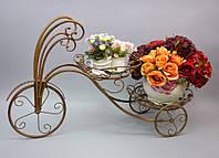 """Подставка под цветы """"Велосипед""""HX082"""