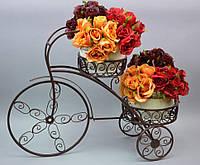"""Подставка под цветы """"Велосипед"""" НХ040"""