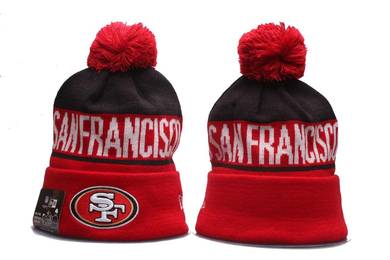 Шапка зимняя San Francisco 49ers / SPK-168 (Реплика)