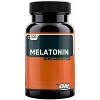 Мелатонин Melatonin Optimum Nutrition 100 tabs, для нормализации сна