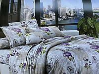 Евро комплект постельного белья 200*220 ЭКОНОМ (16125) Бязь хлопок_полиэстер