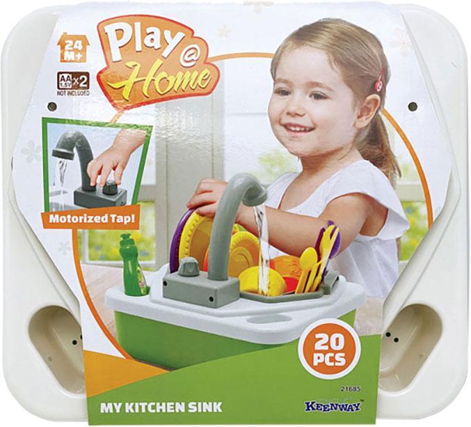Игровой набор Keenway Play Home Моя кухонная мойка (new color)