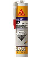 Універсальний клей-герметик Sikaflex-112 Crystal Clear (прозорий) 290 мл