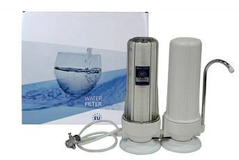 Aquafilter Двоступінчатий настільний фільтр для води FHCTF2