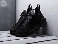 Мужские кроссовки Nike Air Jordan LeBron 16 (черные) 574TP спортивная обувь для баскетбола