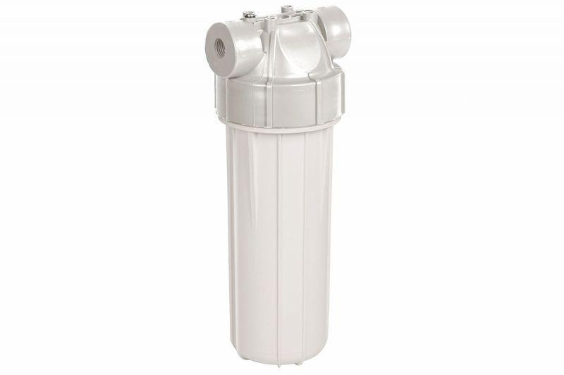Aquafilter Корпус фільтра з клапаном FHPLWW38-NPT-D, біла кришка та корпус