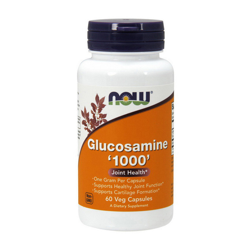 Глюкозамин гидрохлорид Now Foods Glucosamine 1000 (60 caps)